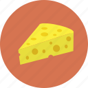 cheese, food, meal icon