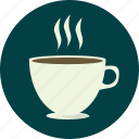 coffee, drink, hot, mug icon