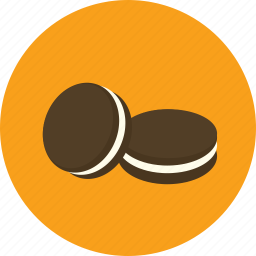 biscuit, chocolate, cookie, food icon