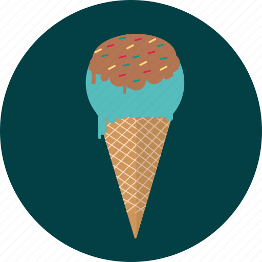 cream, food, ice, sweet icon