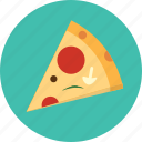 food, italian, meal, pizza, restaurant icon