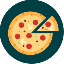 food, italian, pizza, restaurant icon