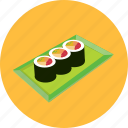 asian, food, japanese food, restauran, sushi icon