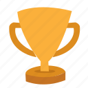 achievement, award, best, football, game, gold, medal, premium, prize, reward, sport, trophy, win, winner icon