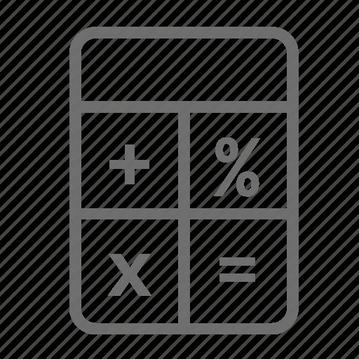 calculator, count, finance, plus icon