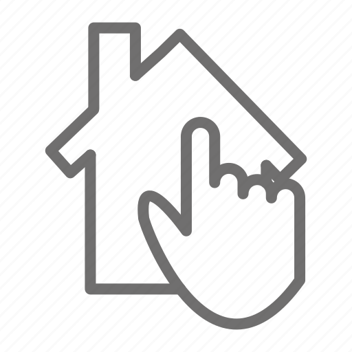 check, home, house, online, propety, rent icon