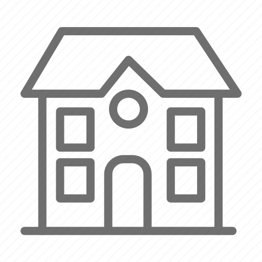 bulding, home, house, propety icon