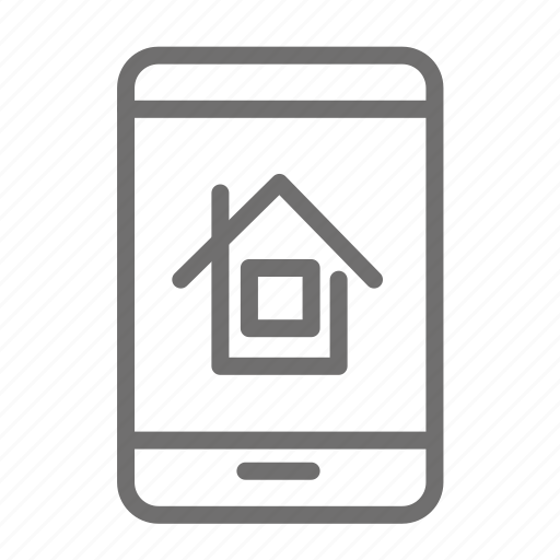 Homes For Rent Apps: Application, Home, House, Mobile, Portal, Propety, Rent Icon