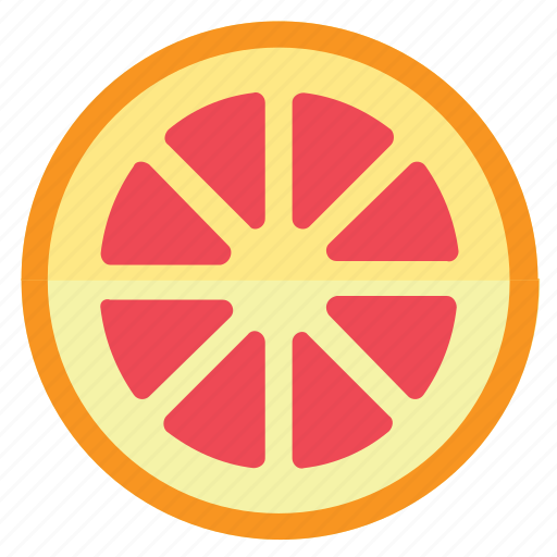 Eating, food, yellow, healthy, foods, grapefruit, fruits, fruit, red icon