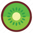eating, food, foods, fruit, fruits, green, healthy, kiwi icon