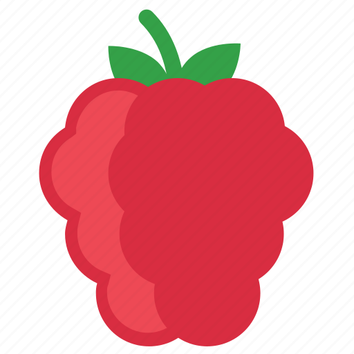 berry, eating, food, foods, fruit, fruits, healthy, raspberries, red icon
