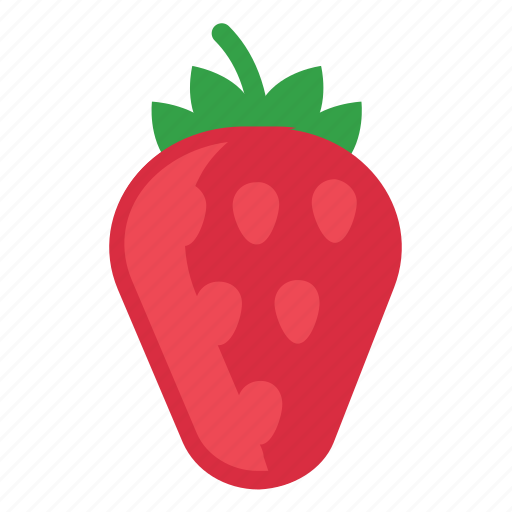 eating, food, foods, fruit, fruits, strawberry, summer, sweet icon