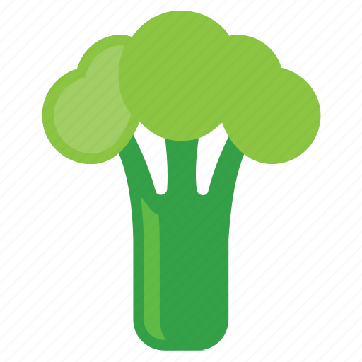 brocol, eating, food, foods, green, healthy, vegeterian, vegeterians, veggie, veggies icon