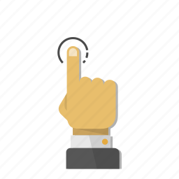 finger, fingers, gesture, hand, mobile, tap, touch icon