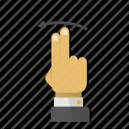 arrow, back, direction, gesture, left, move, swipe icon