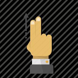 direction, gesture, scroll, side, slide, up, upload icon