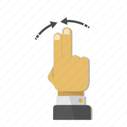 arrows, contract, direction, gesture, hand, minimize, move icon