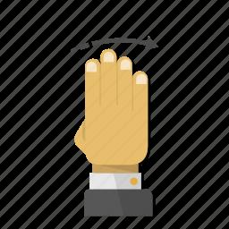 arrow, direction, gesture, left, move, next, swipe icon