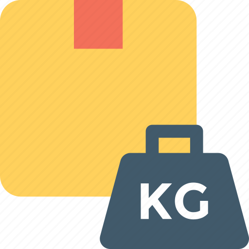 delivery package, freight, package, package weight, weight kettle icon