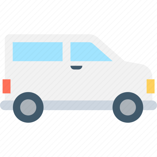 coach, mini bus, transport, van, vehicle icon