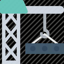 construction, construction crane, container crane, machinery, tower crane icon