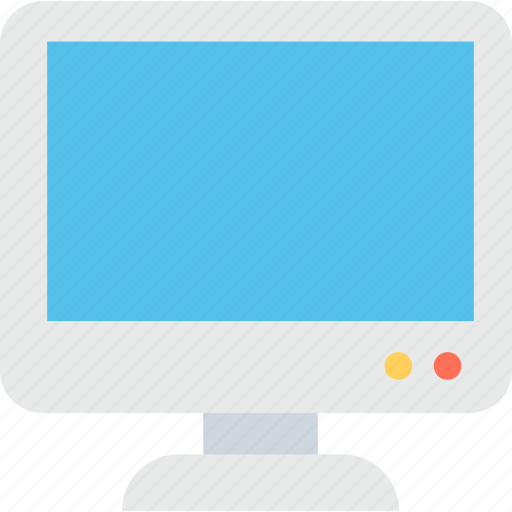 led, monitor, screen, television, tv icon