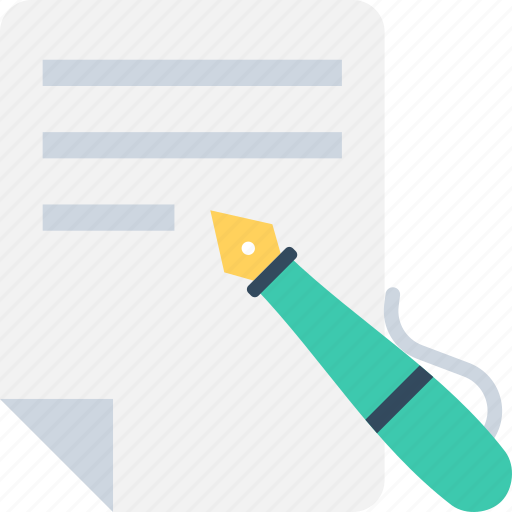 document, form, pen, text, text sheet icon