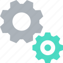 cog, cogwheel, gear wheel, gears, setting icon