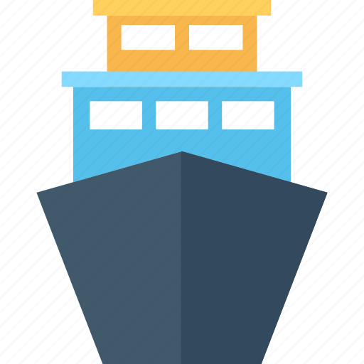 boat, cargo ship, sailing vessel, ship, shipping cruise icon