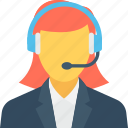 call center, call service, customer service, helpline, phone operator icon