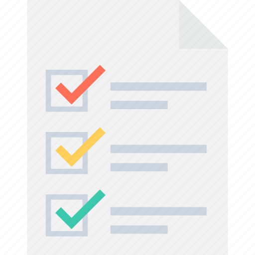 checklist, list, memo, task, to do icon