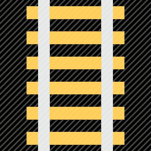 ladder, railtrack, railway line, railway track, stairs icon