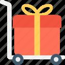 hand trolley, hand truck, luggage trolley, parcel, platform truck