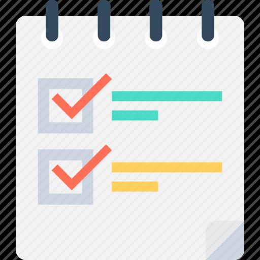 checklist, clipboard, document, pen, questionnaire icon
