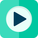 multimedia, music, play, video icon