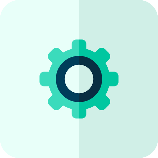 configuration, gear, setting icon