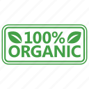 badge, certified, organic, stamp