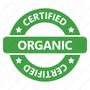 badge, certified, organic