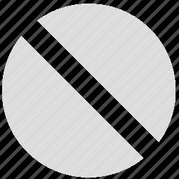 block, deter, impede, prevent, stem, stop icon