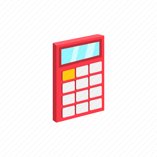 accounts, calculator, education, examination, math, mathematics, study icon