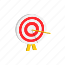 achievement, education, goal, success, target icon
