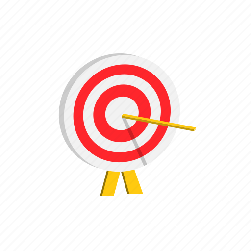 achievement, education, goal, success, target icon