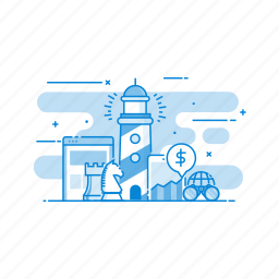 business, explore, explorer, find, optimization, search icon