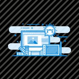 creative, design, equipment, graphics, tool icon