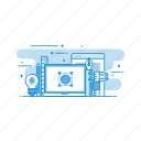 equipment, power, settings, tools icon