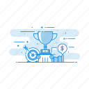 achievement, goal, success, trophy, winner icon