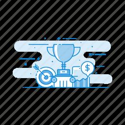 achievement, goal, success, trophy, winner icon