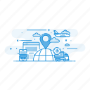 delivery, ecommerce, shipping, transport, transportation icon