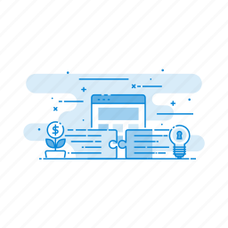 connection, internet, marketing, seo, solution icon