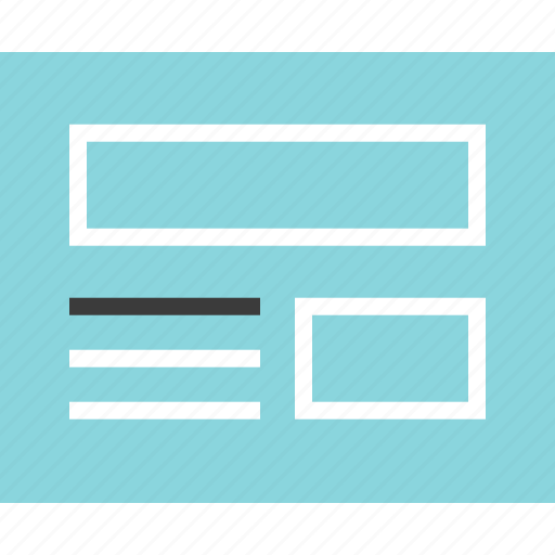 article, news, web icon